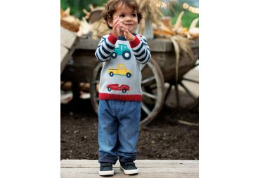FRUGI H19 pantalon wash denim