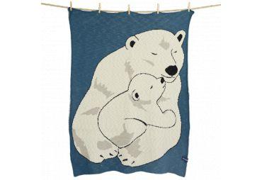 QUSCHEL couverture ours polaire 80/100