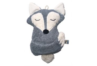 PAT & PATTY peluche musicale renard gris