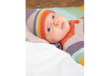 FRUGI H19 bonnet soft rainbow