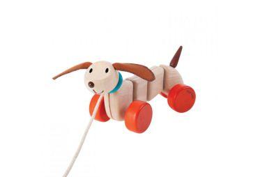 PLAN TOYS chien à Tirer 5101