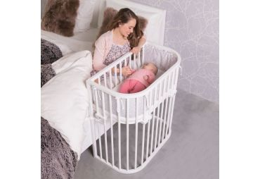 BABYBAY Lit Comfort Vernis Blanc