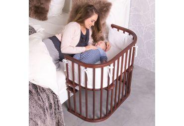 BABYBAY Lit Original Vernis Brun