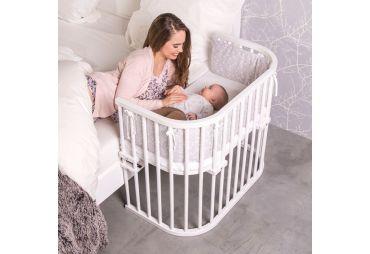 BABYBAY Lit Maxi Vernis Blanc