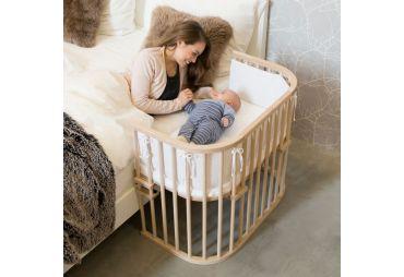 BABYBAY Lit Maxi Naturel non traité