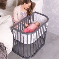 BABYBAY Lit Comfort Vernis Gris