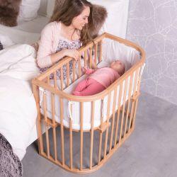 BABYBAY Lit Comfort Vernis Naturel