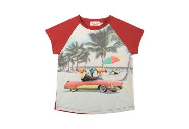 Paper Wings E20 T-shirt Beach Life
