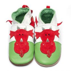 Inch Blue Chaussons Welsh Dragon