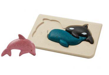 PLAN TOYS Sea Life Puzzle 4643