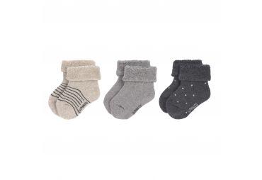 Lassig chaussettes bouclettes Grey