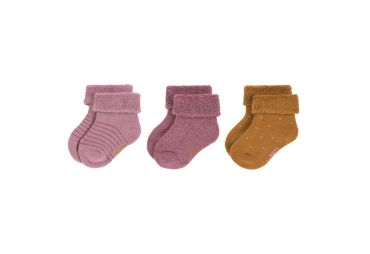 Lassig chaussettes bouclettes Rosewood