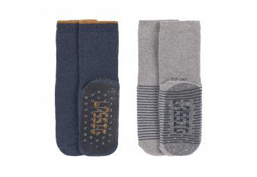 Lassig chaussettes antidérapantes Blue