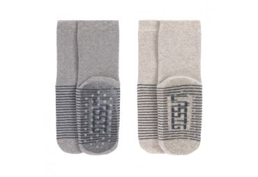Lassig chaussettes antidérapantes Grey