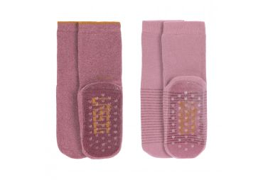 Lassig chaussettes antidérapantes Rose