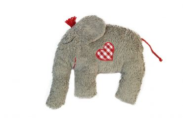 PAT & PATTY Hochet Elephant Gris