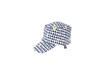 FROY & DIND E20 casquette stripes marine
