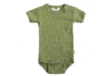 JOHA Body Manches Courtes Coton Vert