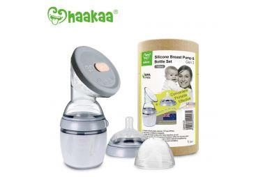 HAAKAA Tire-lait et Biberon 160ml