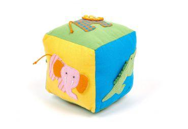 SELYN Cube en coton Animaux