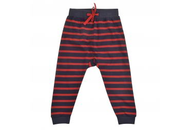 PIGEON E21 pantalon Joggers Navy/Red