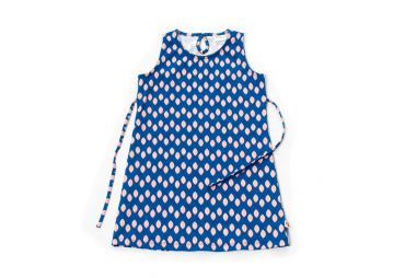 FROY & DIND E21 Robe Rosie Feuilles