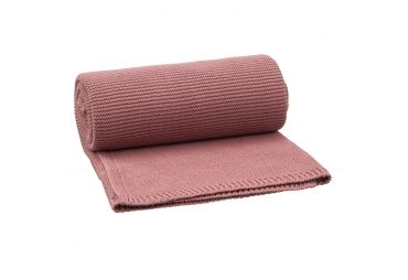 FRESK couverture 80x100 Tricot Rose