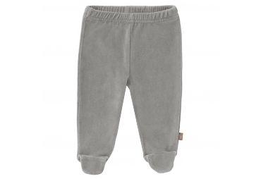 FRESK Pantalon velours avec pieds gris