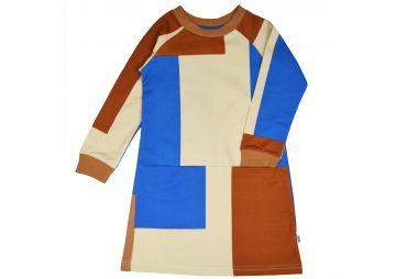 BABA H21 Robe Colorblock