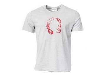 MUNOMAN H21 T-shirt headphones grey