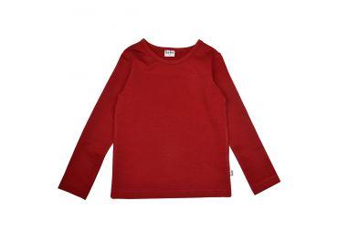 BABA H21 T-shirt fleece red dhalia
