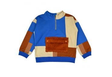BABA H21 pull fleece colorblock