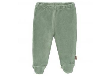 FRESK Pantalon velours avec pieds vert