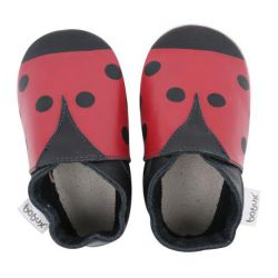 CHAUSSONS CUIR SOUPLE BOBUX LADY BIRD