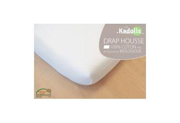KADOLIS Drap-housse Coton Bio 60x120