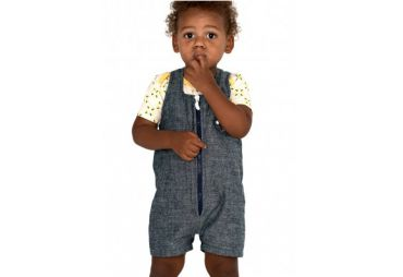 SALOPETTE BEBE DENIM