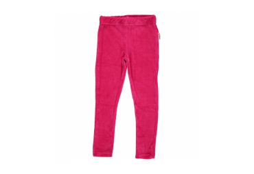 Legging velours cerise