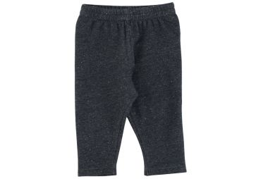 Legging sweat bébé bio anthracite