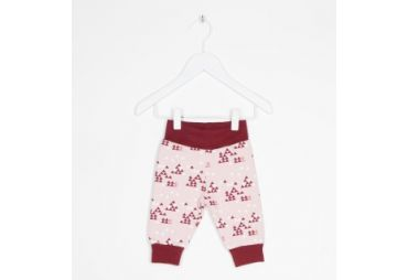 Pantalon bébé sweat rose
