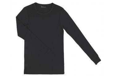T-shirt homme laine merinos noir