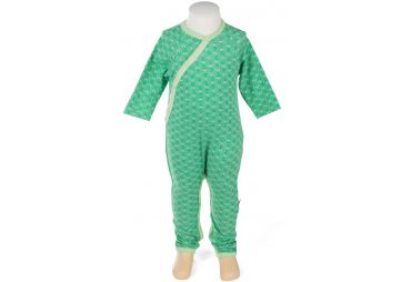 Pyjama sans pieds Hexagon green