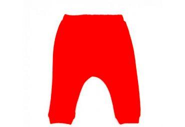 Pantalon bébé en éponge Tommy rouge