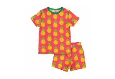 Pyjama 2 piece short ananas