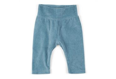 Pantalon bébé en velours Smoke blue