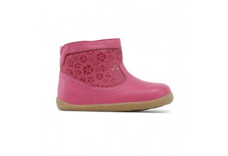 Bobux Step up Suede Boot rose