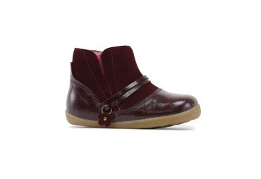Bobux Step up elastic gusset bordeaux
