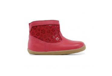 Bobux Step up Suede Boot rouge