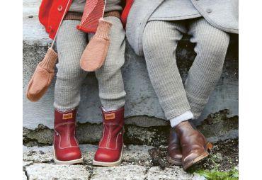 DISANA Legging Laine Gris clair