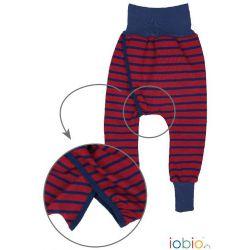Pantalon hygiène naturelle rayé