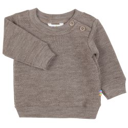 Pull laine tout doux taupe